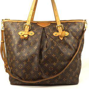 Auth Louis Vuitton Palermo Gm Shoulder #5918L46